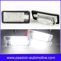 2X18SMD No Error  LED Kit for AUDI A4/S4 B6 (8E/8H) 2001-2005 LED License Plate Light
