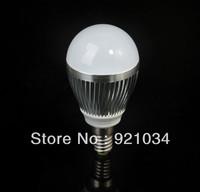 Free shipping 5X Bubble Ball Bulb E14 /E 27 85-265V 9W High power Energy Saving Ball steep  LED Light Bulbs Lamp Lighting