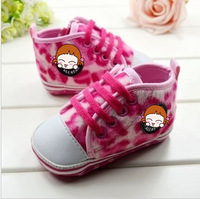 New Special Hot Leopard Printing Baby Shoes for Girls Sexy Infants' First Walkers Anti-slide Soft Sole Children's Footwear