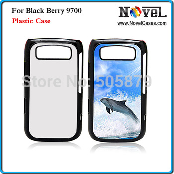 New Arrival!! Free Shipping Sublimation Cover Case for Black Berry 9700, with aluminium metal plate