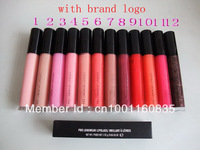 Lip Gloss Makeup Lots of 60Pcs/lot High Quality 12colors Free Shipping+mix color order