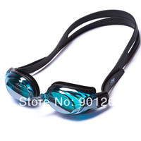 Fashion cool silicone swimming glasses for men