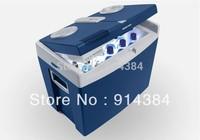 T35 car refrigerator dual-use portable refrigeration refrigerator 35l car refrigerator heating box