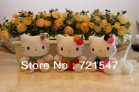 Hello kitty wedding toy,PP cotton, short plush 3/set ,hight 15cm