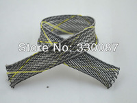 Free shipping insulated braided expandable sleeving 10M/Lot Dia 12mm color: multicolour