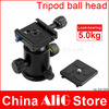 KS-0 High Quality Tripod Ball Heads Camera Mounting Bracket With Quick Release Plate/Resistance Free Shipping(China (Mainland))
