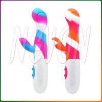 Colorful10 Modes Vibrating G-Spot Waterproof Dual Motors Vibrator, Women Sex Toys Adult Sex Products