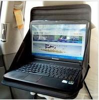 Car Folding Laptop Holder Multifunctional Tray Bag Mount Back Seat Auto Notebook Table Food Dining Work Desk Portable Organizer