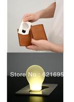 Hot selling 10pcs/lot Creative Slim Card Light Card Lamp Night Light Led Card Light Small Gift Multicolor