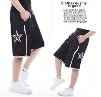 FREE SHIPPING NEW2014 Dream nine basketball pants, shorts The USA dream team training pants Hip-hop polyester double shorts