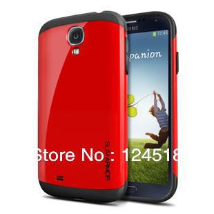 Special price SLIM ARMOR SPIGEN SGP cases for Samsung galaxy s4 case,free shipping+Screen film,without retail package