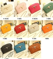 New summer 2014 han edition of diamond plaid chain bag shoulder aslant female bag bag of tide
