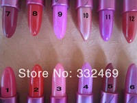 20PCS/lot High Quality Professional Makeup lipstick lustre Lipstick 12 different colors FREE POST SHIPPING