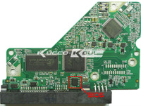 Western Digital HDD PCB Board Controller 2060-701640-002 REV A