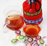 Supernova Sale ! 30pc/150g 12 flavor perfume brand Puer Puerh Tea Ripe Pu'erh Pu-er Tea Weight Loss Cake Tea Cha gao health care