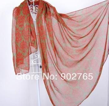 free shipping+Long  Women shawl,big flower printing floral hijab head wraps,black pashmina