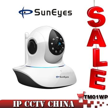 SunEyes 720P HD IP Camera Wireless Pan/Tilt IR Cut SP-TM01WP