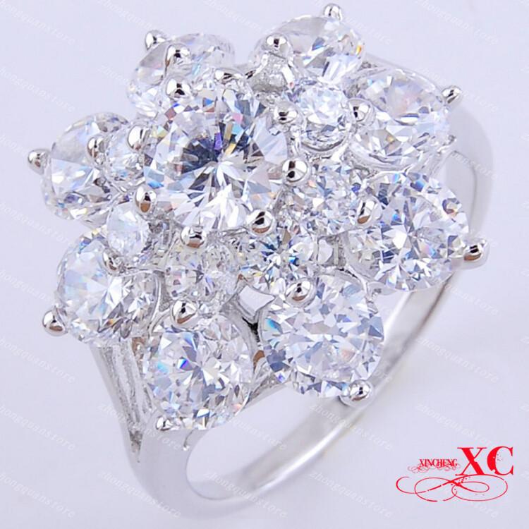 Кольцо Rings AAA anel 14KT R7C1026 Size7/8/9 кольцо yc size6 14 8 rings