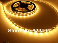 Double hight brightnes 5050 5Meters/16.4ft  300leds non-waterproof 5050 LED strip light,  warm white(2700-3200k)