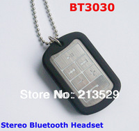 Free Shipping Wireless phone headset BT3030 Wireless Stereo Bluetooth Headset Headphone NO BOX