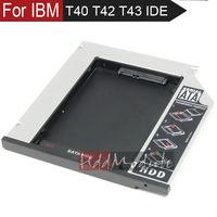 9.5mm SATA 2nd Hard Drive HDD Caddy For IBM LENOVO THINKPAD T40 T41 T42 T43 Optical Bay ultrabay SLIM