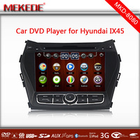 Free shipping,Hyundai IX45, Santa Fe 2013 Car DVD Player  Wheel Control,built-in GPS,TV,BT,RADIO,IPOD,3G,BLUETOOTH,FM,SD