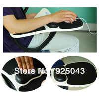 New Ergonomic Healthy Computer Armrest Wrist Rest Arm Support Holder & Mousepad Mouse Pad Free Shipping