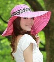 Summer Women big along the cap strawhat sunbonnet large brim hat beach sun hat straw hat braid