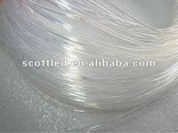 two end light fiber optic 1mm fiber 1500M/Roll,two ends light