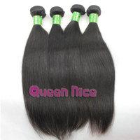 QNice Hair Brazilian virgin hair straight 1pcs Brazilian virgin hair cheap high quality thick human hair weave straight