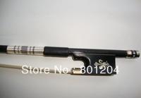 2pcs professional black Carbon fiber 4/4 violin bow SCFT93-2 violin carbon bow