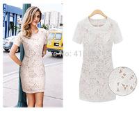 2014 Fashon Sexy Women Summer Hollow Lace Princess Dress Dresses 7080114