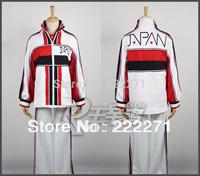 Prince of Tennis Seigaku Syusuke Fuji Jersey Kikumaru set 4 Cosplay Costume White Red Japanese  Suit Clothes FREE SHIPPING Anime