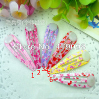 Free shipping! Popular children's small hairpin - 5 cm tie BB clip accessories, 100 PCS/bag
