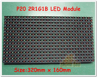 P20 Full Color 2R1G1B Outdoor  Window  LED Panel Module Size 320mmx 160mm 1/4 Scan Alibaba