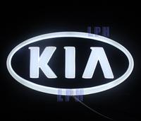 4D Auto logo Cold light car badge light  for Kia Sorento 13x6.5cm Rear Light