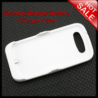 White External 3500mAh Back Up Battery Charger Case for Samsung Galaxy S3 i9300