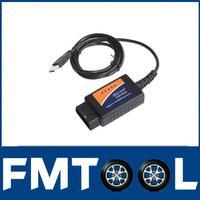 OBD2/OBDII Auto Scanner  ELM327 USB car diagnostic tool interface