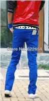 new design hot Sale fashion mens Jeans men's slim Water washing pants 127