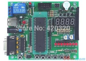 Electronic 2015 new 51 avr microcontroller development board learning board kit stc89c52 Electronic Kit diy