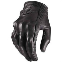 Free shipping American ICON Men's leather gloves motorcycle gloves racing gloves