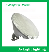 free shipping led par38 soptlight 12W AC85~265V Waterproof IP65 aluminum+pc cover warm white cold white CE&ROHS certification