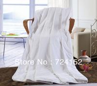 Summer quilt  handmade 100% pure mulberry silk quilt/duvet/comforter Queen200*230cm 0.6kg silk quilt.