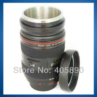 New Lens King EF 70-200 F2.8 L USM 1:1 Coffee Cup Camera Lens Cup for Canon Design + Zoom Rotating Telescopic