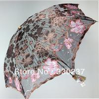 New 2013 Ladys' Fashion Sun Umbrella,art umbrealla, foldable umbrella