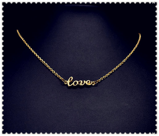 New fashion jewellery love choker necklace nice gift for women girl wholeslae N918
