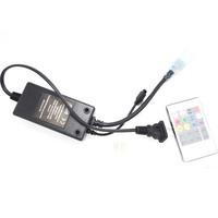 Free shipping 1pcs Infrared 20key RGB high voltage led remote controller for 220V / 110V LED 5050 RGB strip light