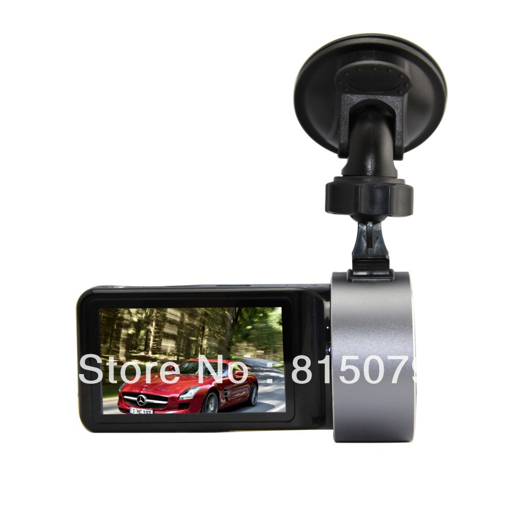 "2013 New Arrival Car DVR Recorder GS7000 with 2.7"" LCD + 1080P 30FPS + H.264 + G-Sensor + Wide Angle 120 Degrees(China (Mainland))"
