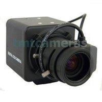 700TVL Sony CCD Effio-P 960H 3.5-8mm Auto IRIS CS Lens CCTV Security Box Camera 0.001Lux WDR OSD Menu HLC Free shipping