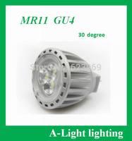 [ A-Light ]-80  LED MR11  4W,  10-30V DC,  30 degrees beam angle ,GU4 spotlight , Direct selling , retail